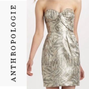 Anthropologie/leifsdottir shimmery Dress